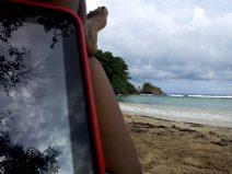 Boston Bay Beach in Jamaica