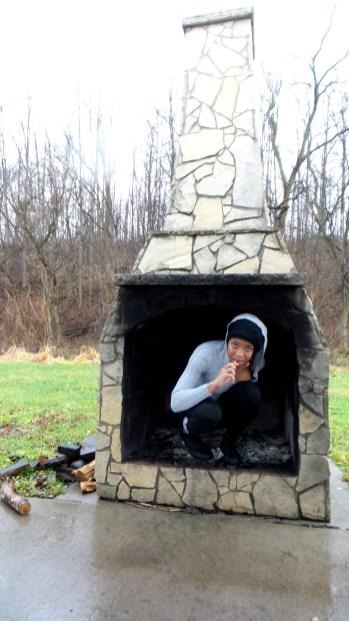 fireplace rain autumn travel alexis chateau sunderbruch park