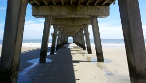 tybee island beach bridge deck travel explore