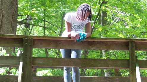 alexis chateau dreadlocks hiking trail