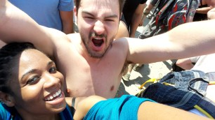 yellowcard vans warped tour interracial couple