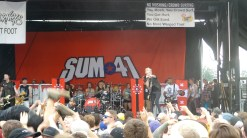Sum 41 on Vans Warped Tour 2016