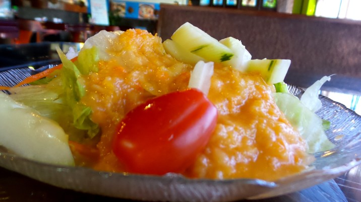 sushi ginger salad