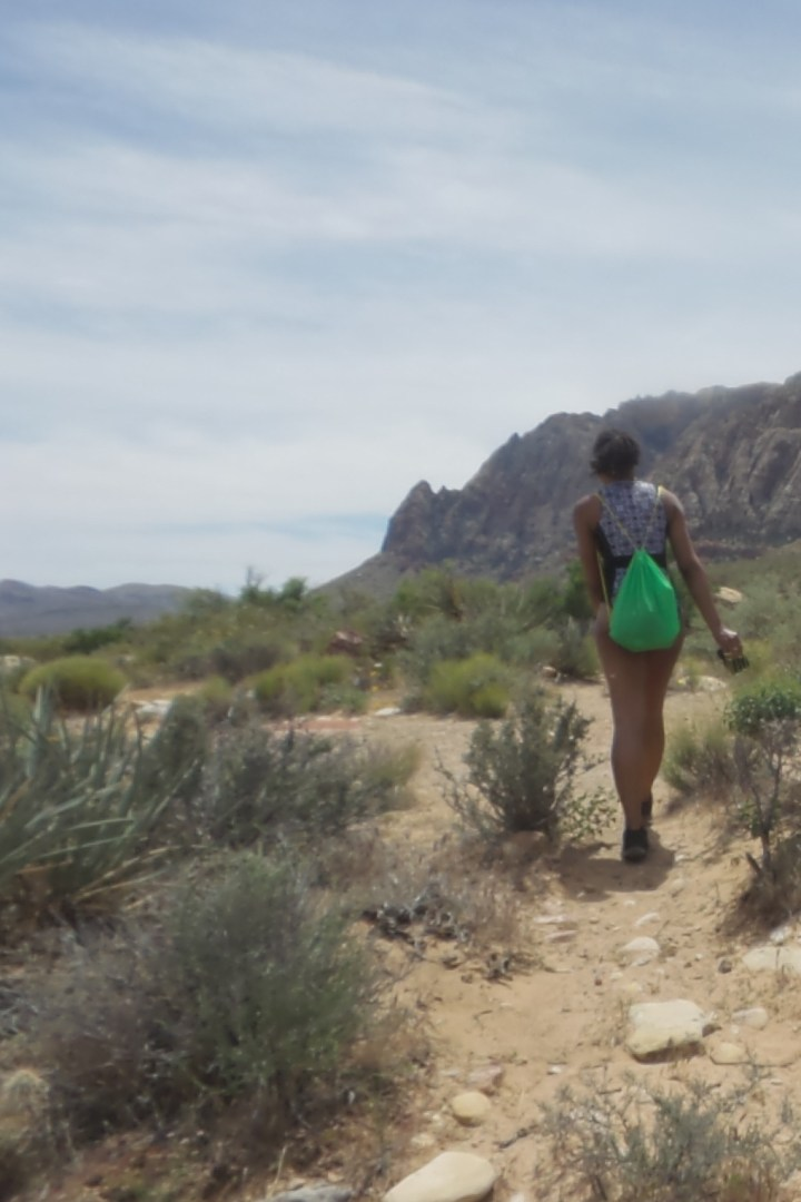 Alexis Chateau Hiking Red Rock Canyon.JPG