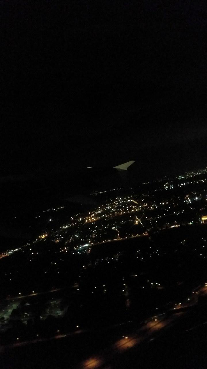 Atlanta City Lights at Take Off