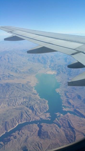 Flying Over Nevada