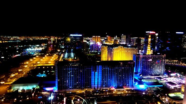 High Roller Las Vegas City Lights