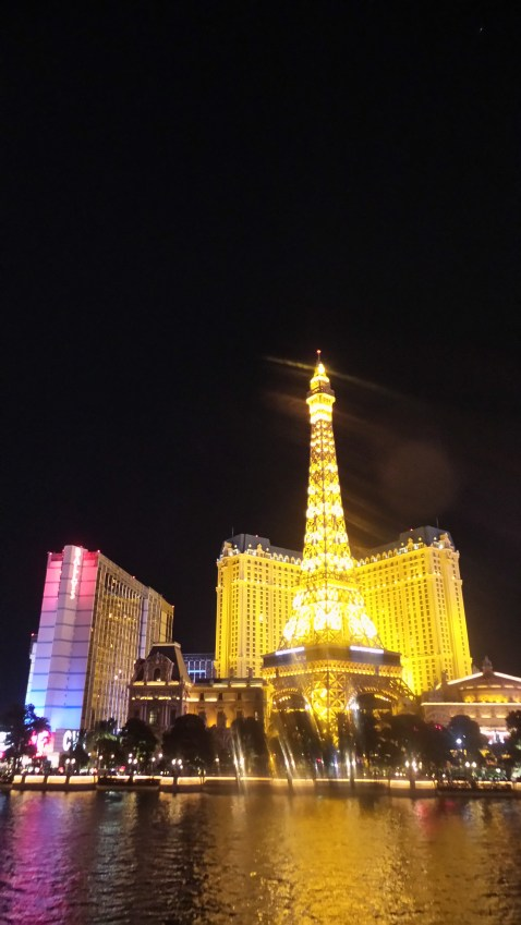 The Las Vegas Eiffel Tower