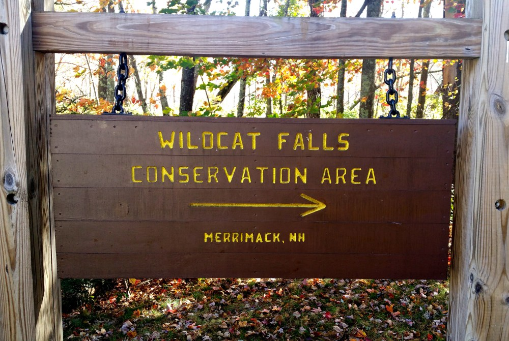 1 Wildcat Falls Conservation Area Sign