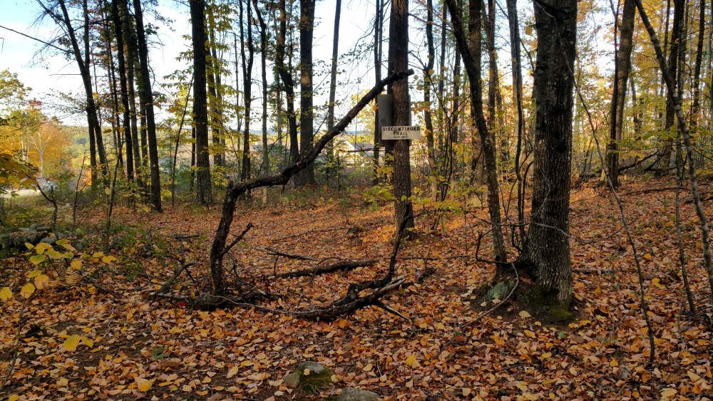 25 Horse Hill Nature Preserve Discontinued Trail
