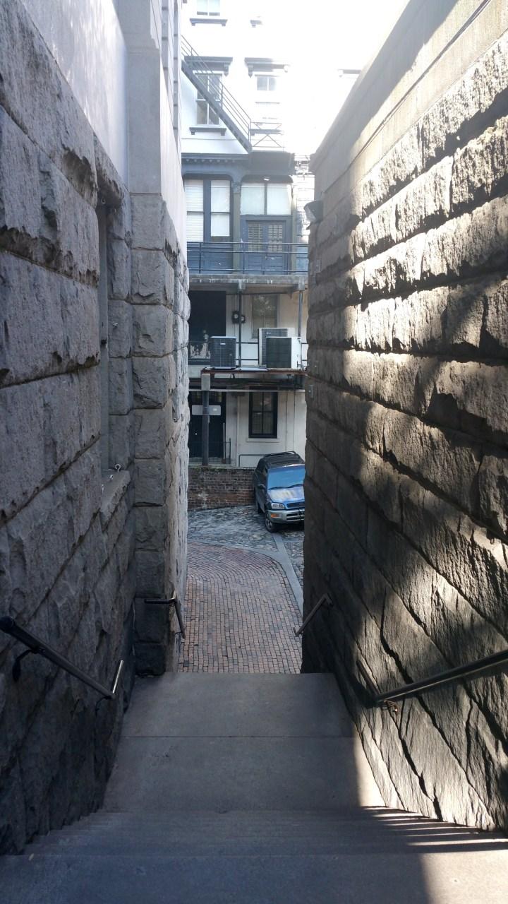4 Savannah Georgia Narrow Corridors