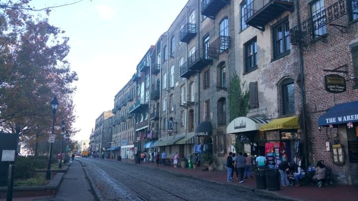 5 Savannah Georgia River Street Cobblestones