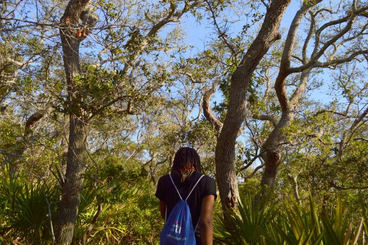 26 Alexis Chateau Hiking in Florida.JPG