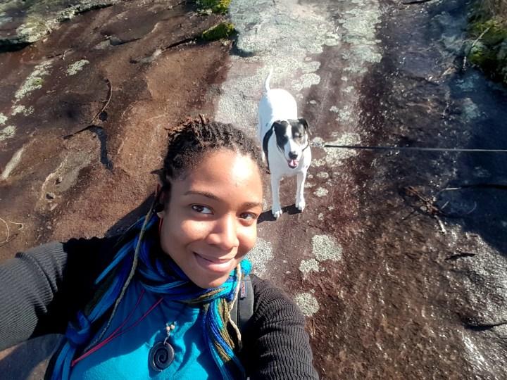 21 Alexis Chateau Orion Stone Mountain Selfie.jpg