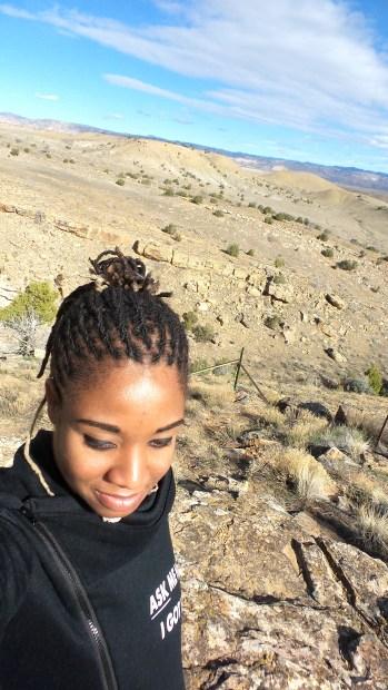 11 Alexis Chateau Hiking Selfie Thompson Viewing Area Utah