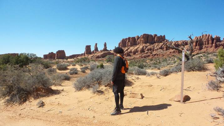 24 Arches National Park Hike to Tower Arch Tristan O'Bryan