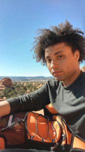 35.5 Arches National Park Utah Selfie Tristan Obryan