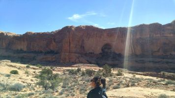 21.5 Alexis Chateau Corona Arches Hiking Trail Utah