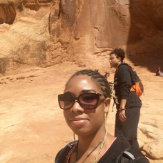 35 Alexis Chateau Tristan O'Bryan Corona Arches Hiking Trail Utah