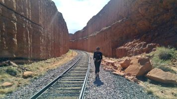 7.2 Alexis Chateau Corona Arches Hiking Trail Utah