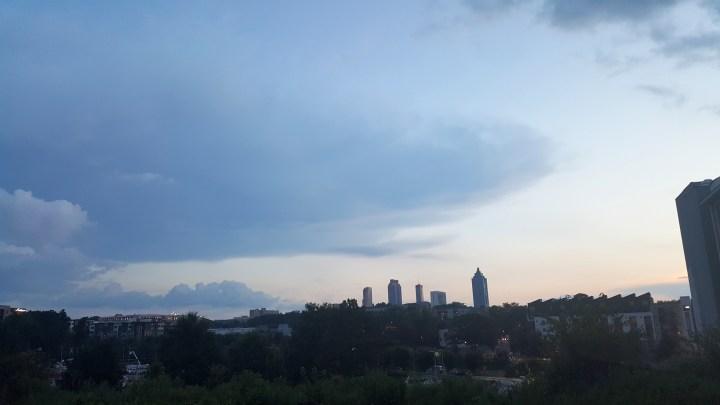 01 Atlanta Skyline Indpendence Day