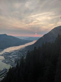 06 Juneau Alaska from Mount Roberts Tramway
