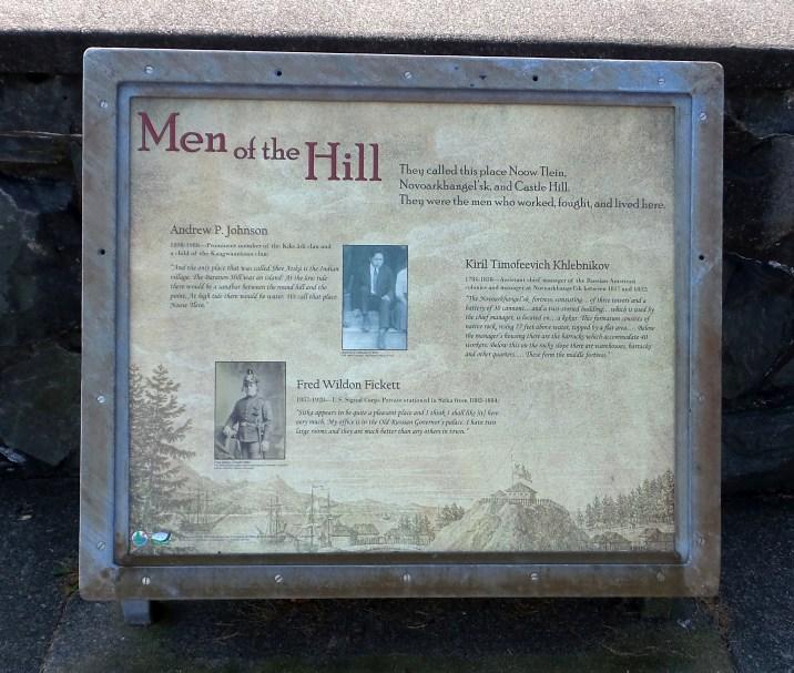 08 Men of the Hill Baranof Castle Hill Sitka Alaska