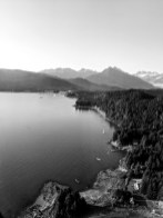 18 Sitka Alaska Aerial Shot Coastline