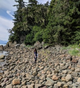 23 Alexis Chateau Kayaker's Beach Juneau Alaska