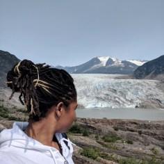 38.25 West Glacier Hiking Trail Mendenhall Glacier Alexis Chateau