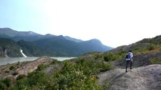 48 West Glacier Trail Nugget Falls Alexis Chateau Hiking Alaska
