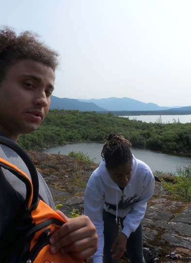 53 West Glacier Trail Nugget Falls Alexis Chateau Hiking Alaska Tristan Obryan