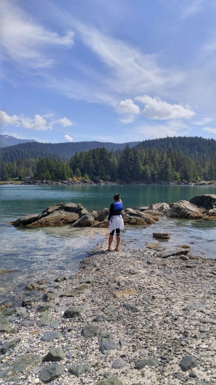 Ocean Kayaking in Alaska and the Hike to Kayaker's Beach