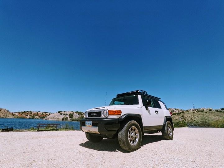 RV Travel Vlog | Colorado to Wyoming: Black Beach, Ayres Natural Bridge, Casper Mountain & Gumbo!