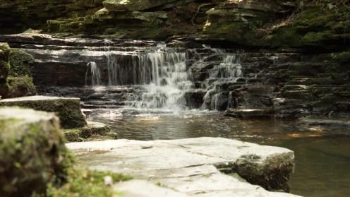 salt spring state park waterfall nature travel