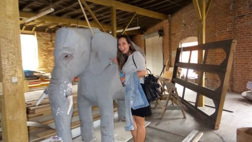 elephant artwork travel explore taylor lee