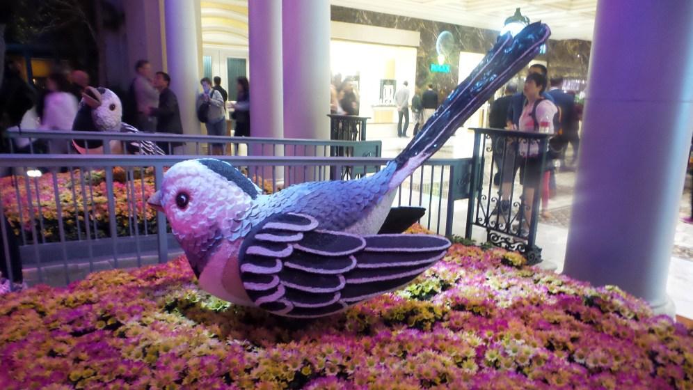 Bird Bellagio Japanese Gardens