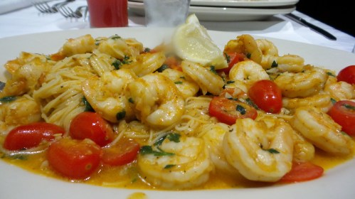 Maggianos Little Italy Shrimp Scampi