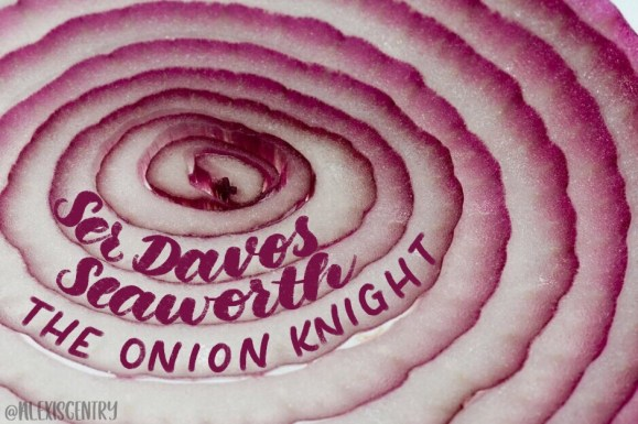 Ser Davos Seaworth the Onion Knight - Letter Game of Thrones