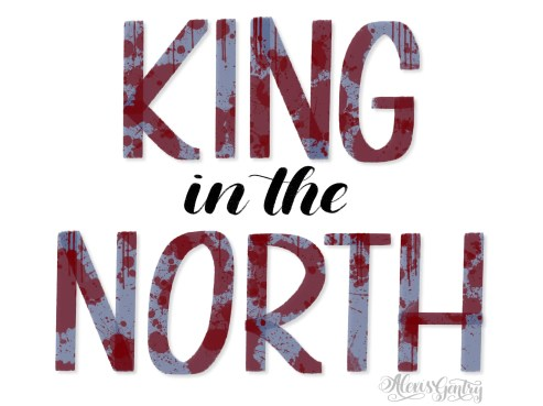 Robb Stark the King in the North - Letter Game of Thrones