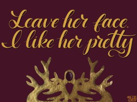Joffrey Baratheon - Letter Game of Thrones