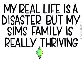 Sims life vs real life