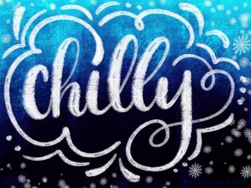 Chilly outside