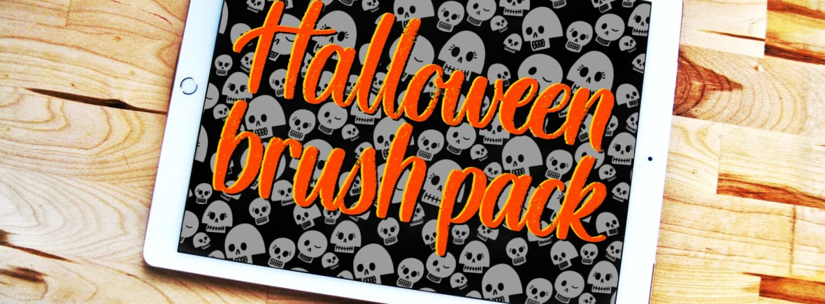 Halloween Procreate brush pack by Alexis Gentry