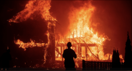Rebuilding Paradise Camp Fire