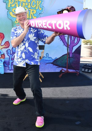 """Bill Fagerbakke at """"The Patrick Star Show"""" Drive-In Premiere"""
