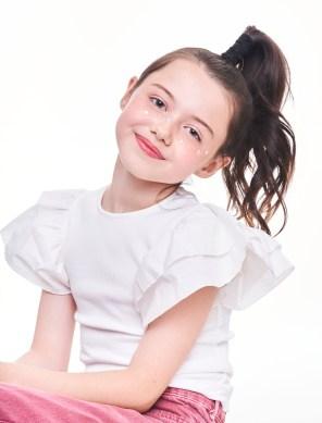 Actress Violet McGraw