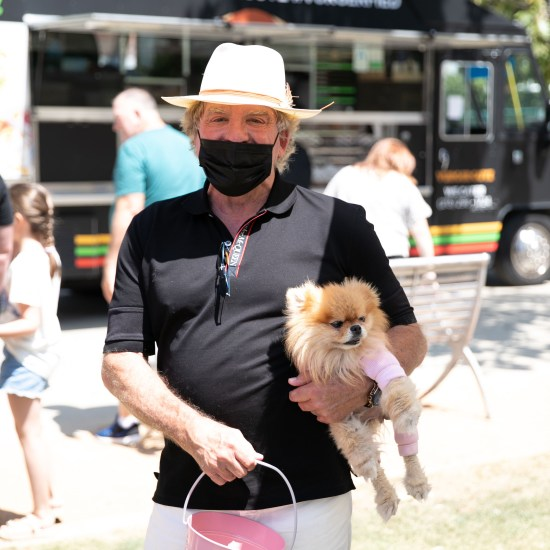Ken Todd at the 5th Annual Vanderpump Dogs World Dog Day