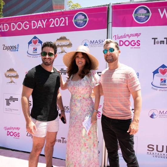 Michael Turchin, Lisa Vanderpump and Lance Bass at the 5th Annual Vanderpump Dogs World Dog Day