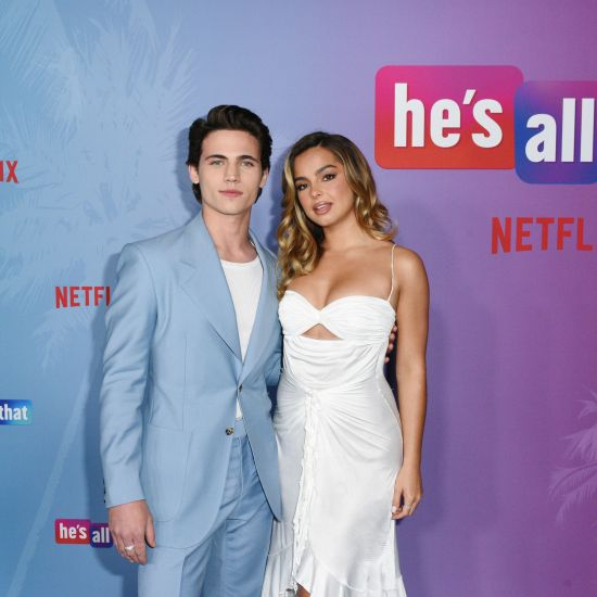 Tanner Buchanan And Addison Riecke at the special screening of He's All That